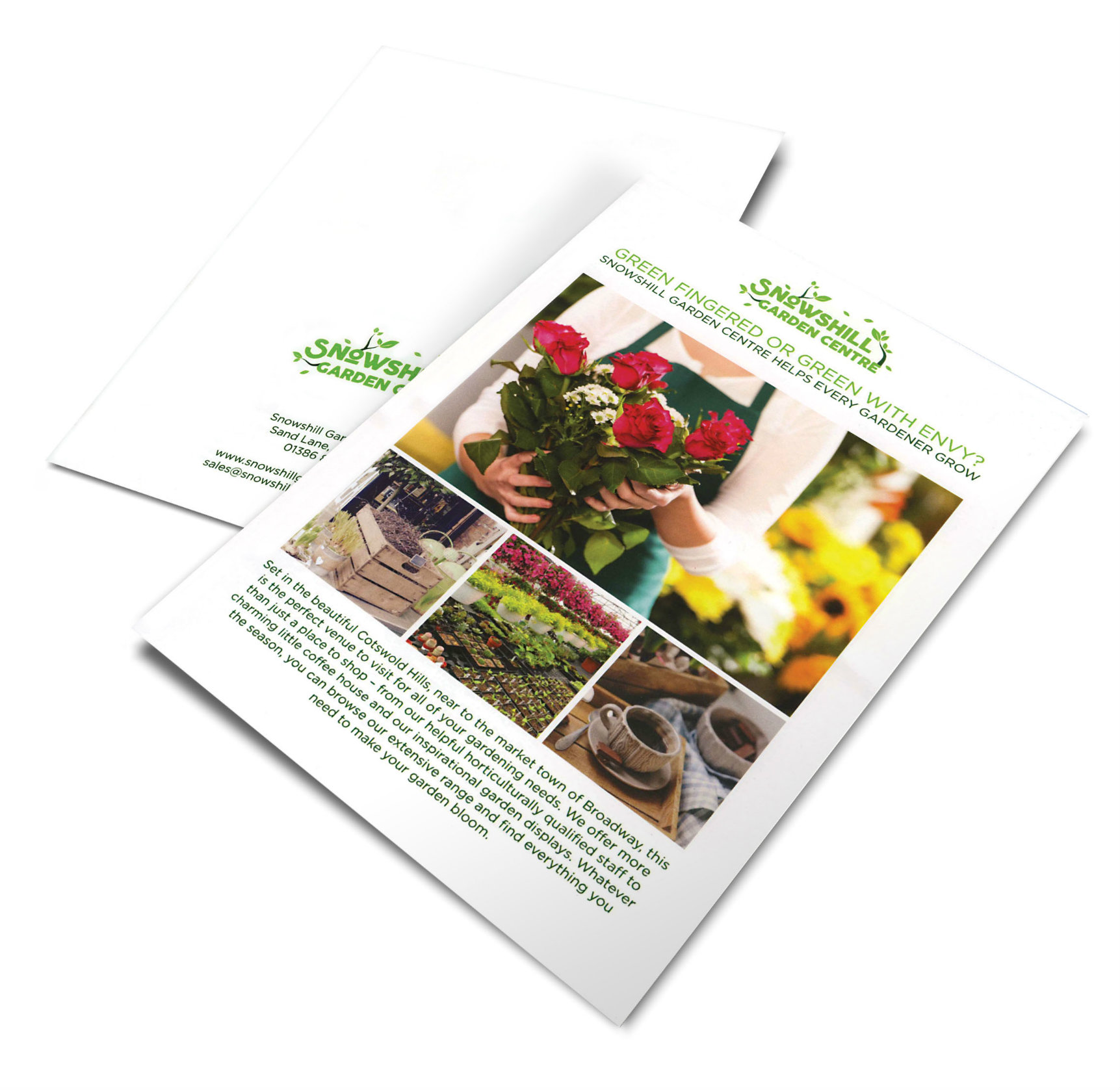 Garden Center Leaflet